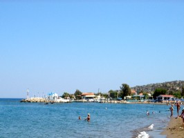 Beach Faliraki Bay
